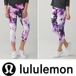 🦊NWOT Lululemon Wunder Under Crop III